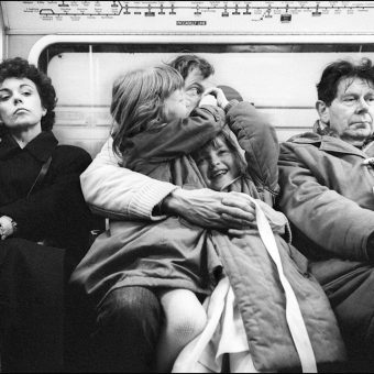 Going Down The London Underground in the Later 1980s