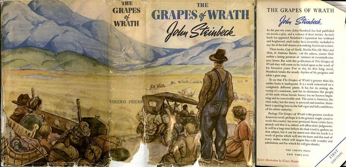 John Steinbeck, Grapes of Wrath, book