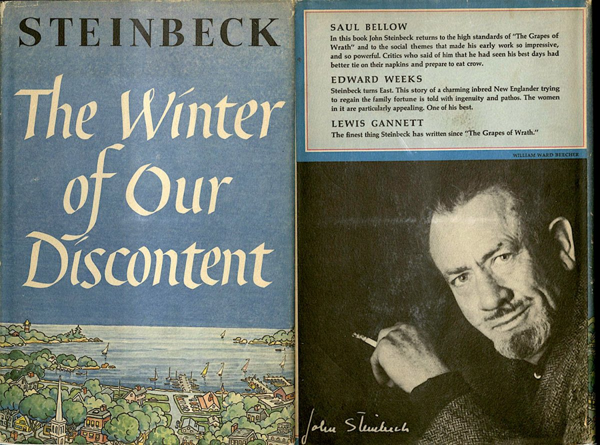 John Steinbeck, Winter of Our Discontent, book