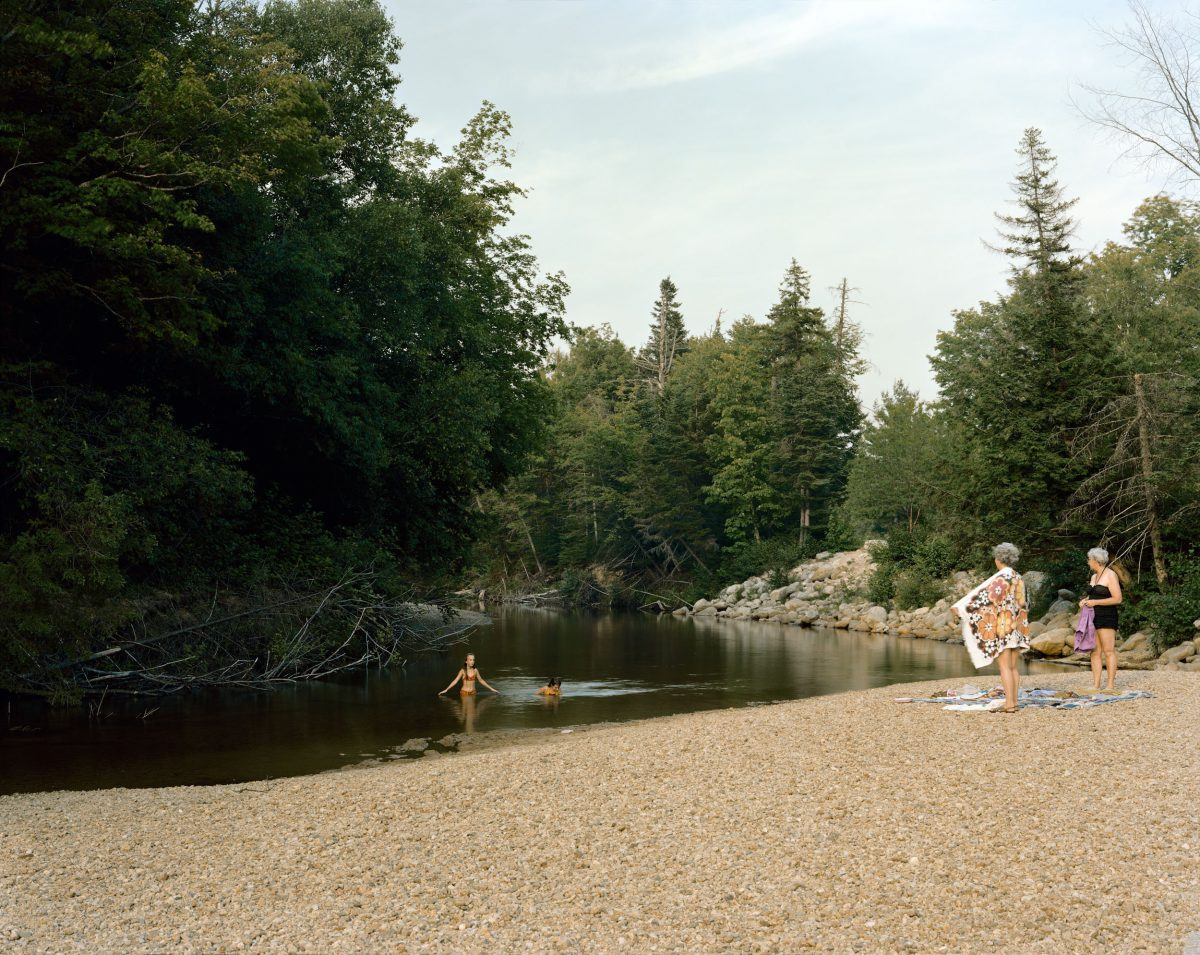 Swift River, White Mountain National Forest, New Hampshire, July 1980