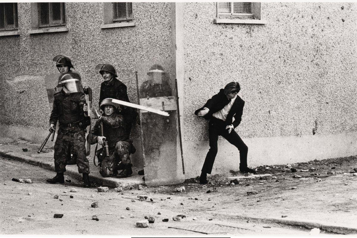 The Bogside, Londonderry, Northern Ireland, 1971