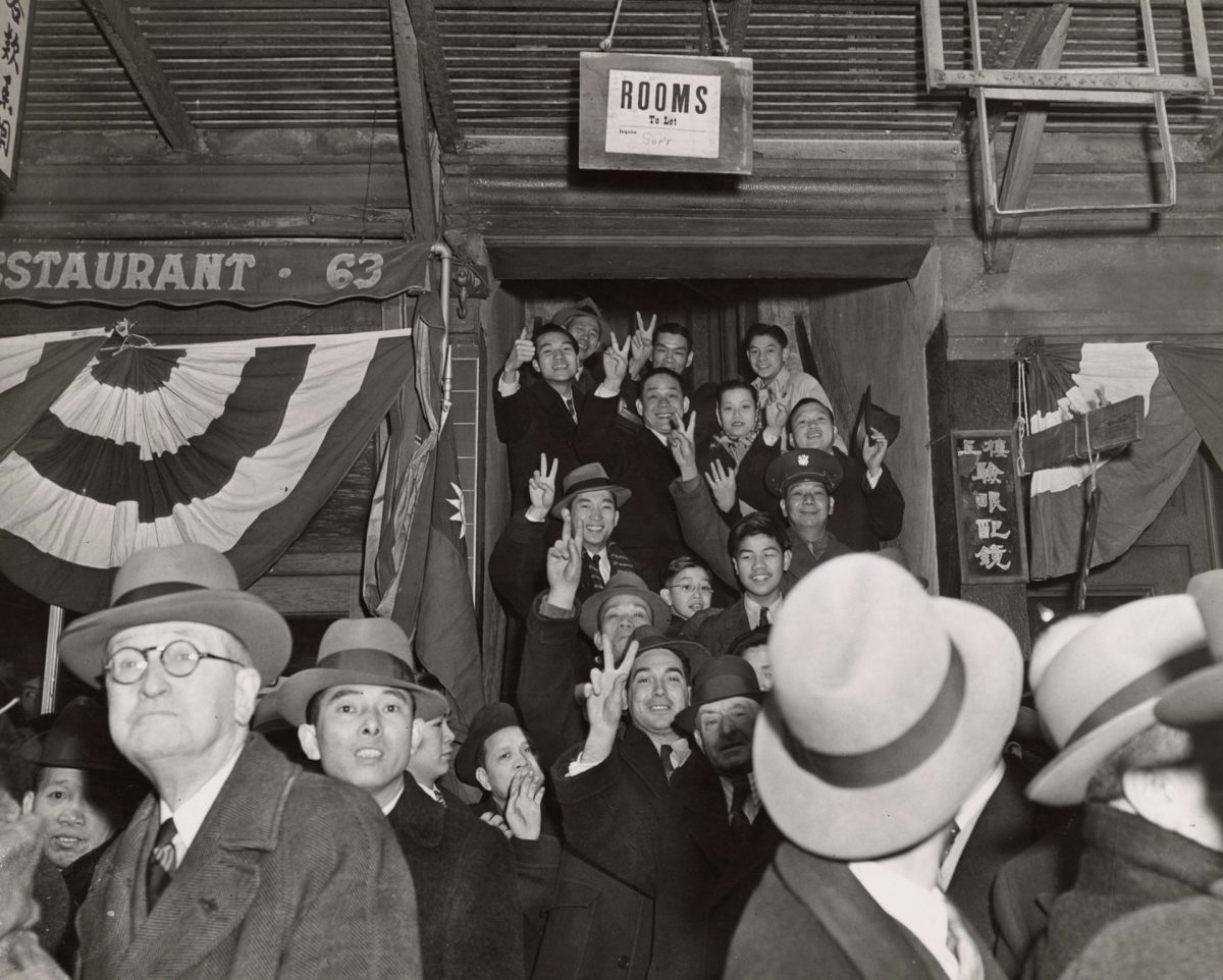 Chinatown NYC 1940s War Weegee
