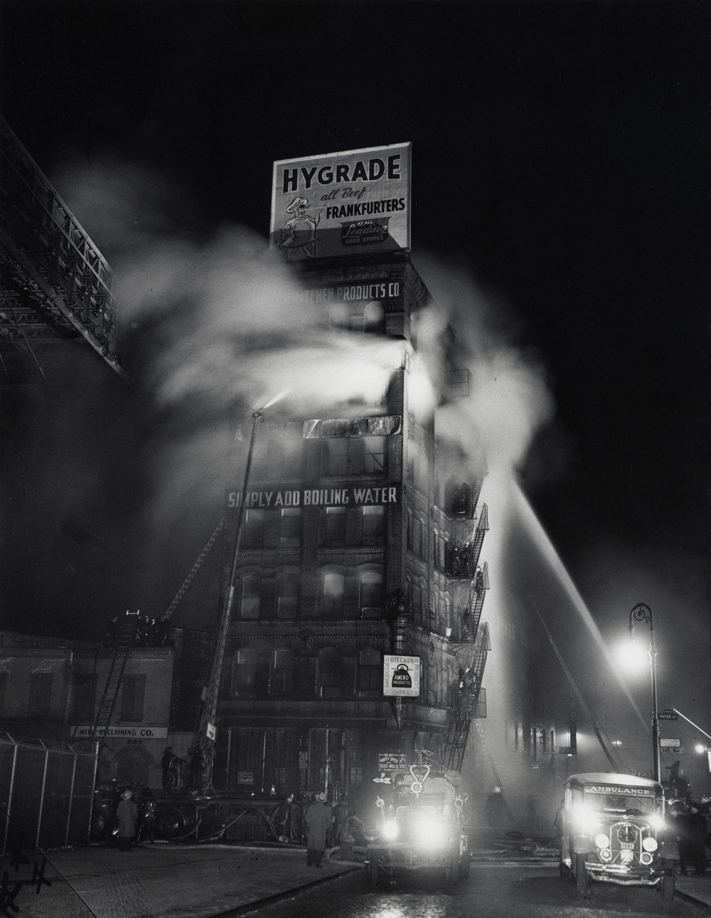 Weegee New York City 1940s