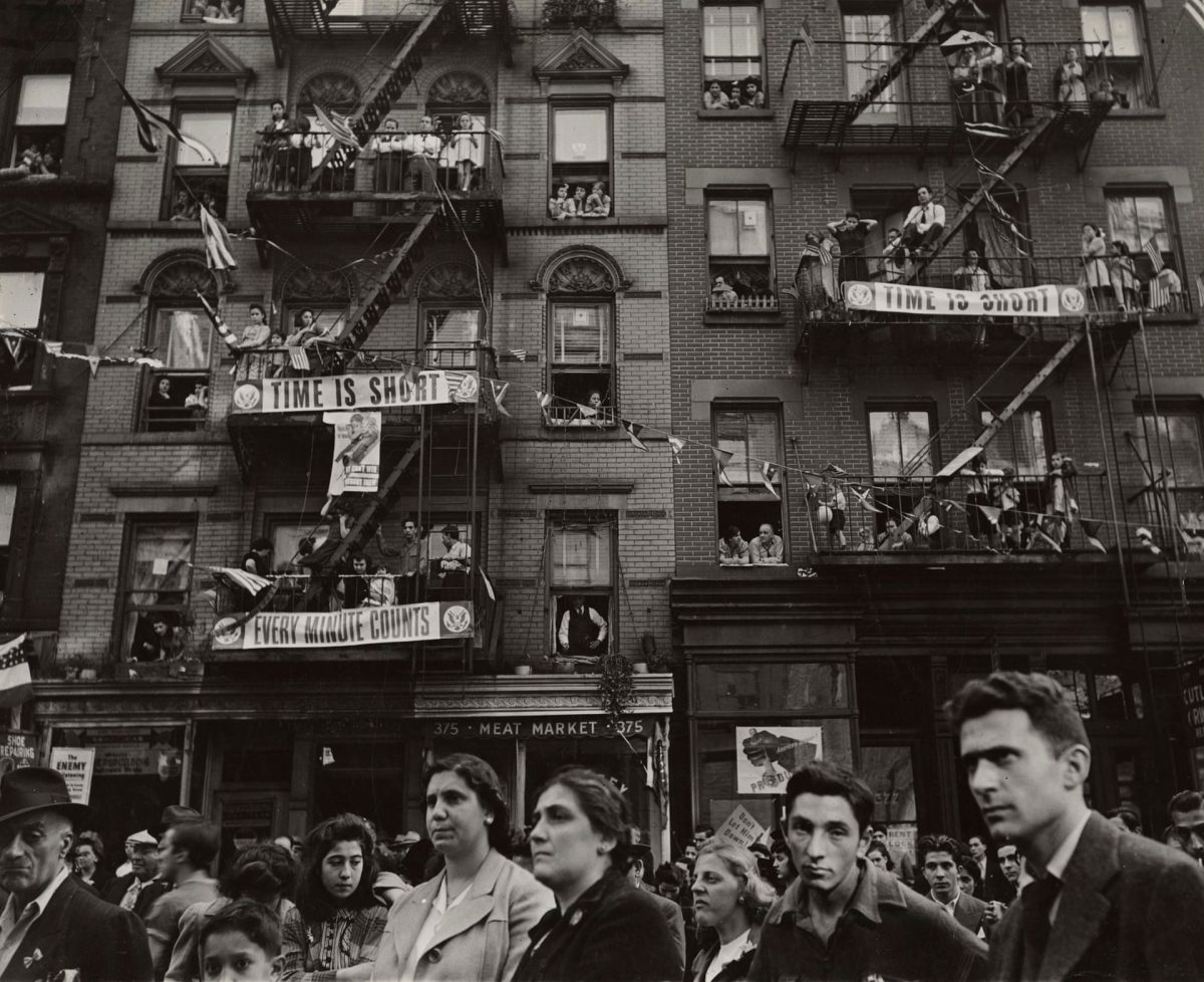 Little Italy 1940s NYC weegee