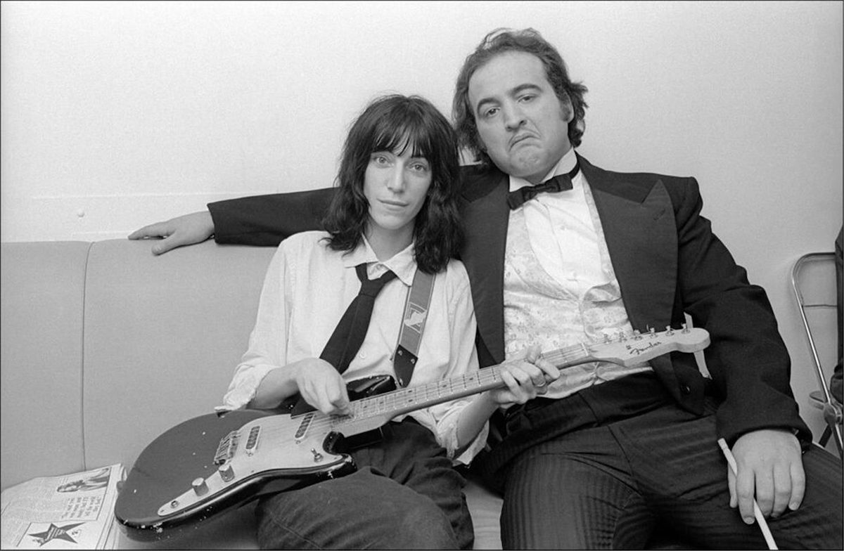 John Belushi, Patti Smith