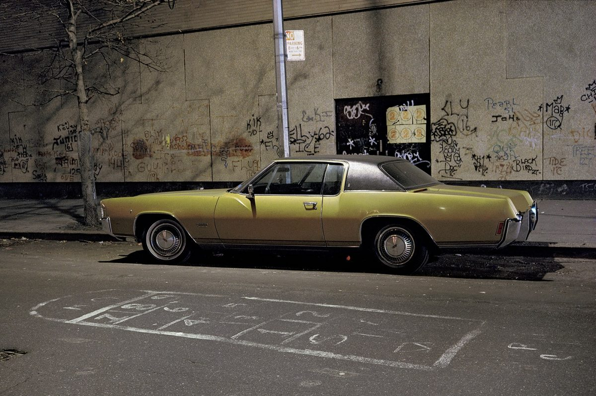 Hopscotch car, north of West Village, 1974