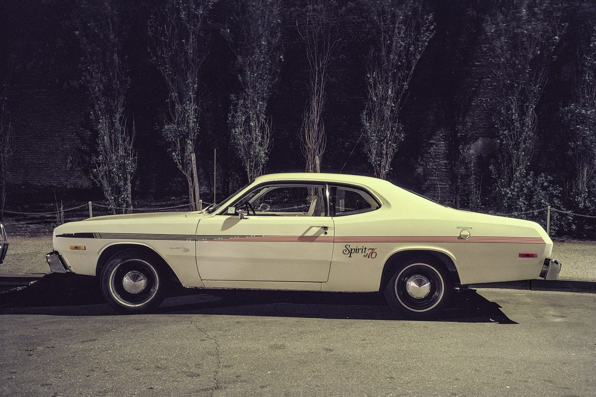 Spirit of '76 car, Dodge Dart Light, Lower Chelsea, 1976.