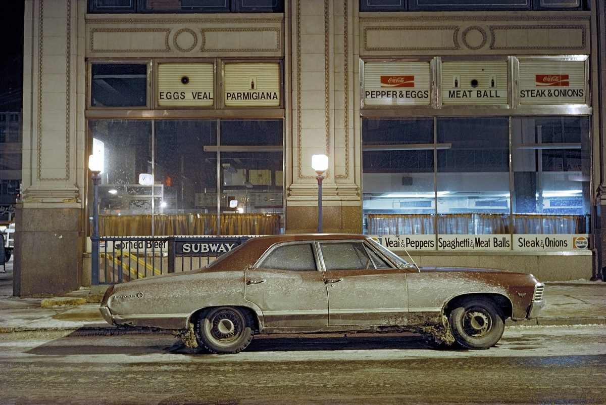 Subway Impala, Chevrolet Impala, 7th Avenue and 29th Street, 1975 FacebookTwitterPinterest