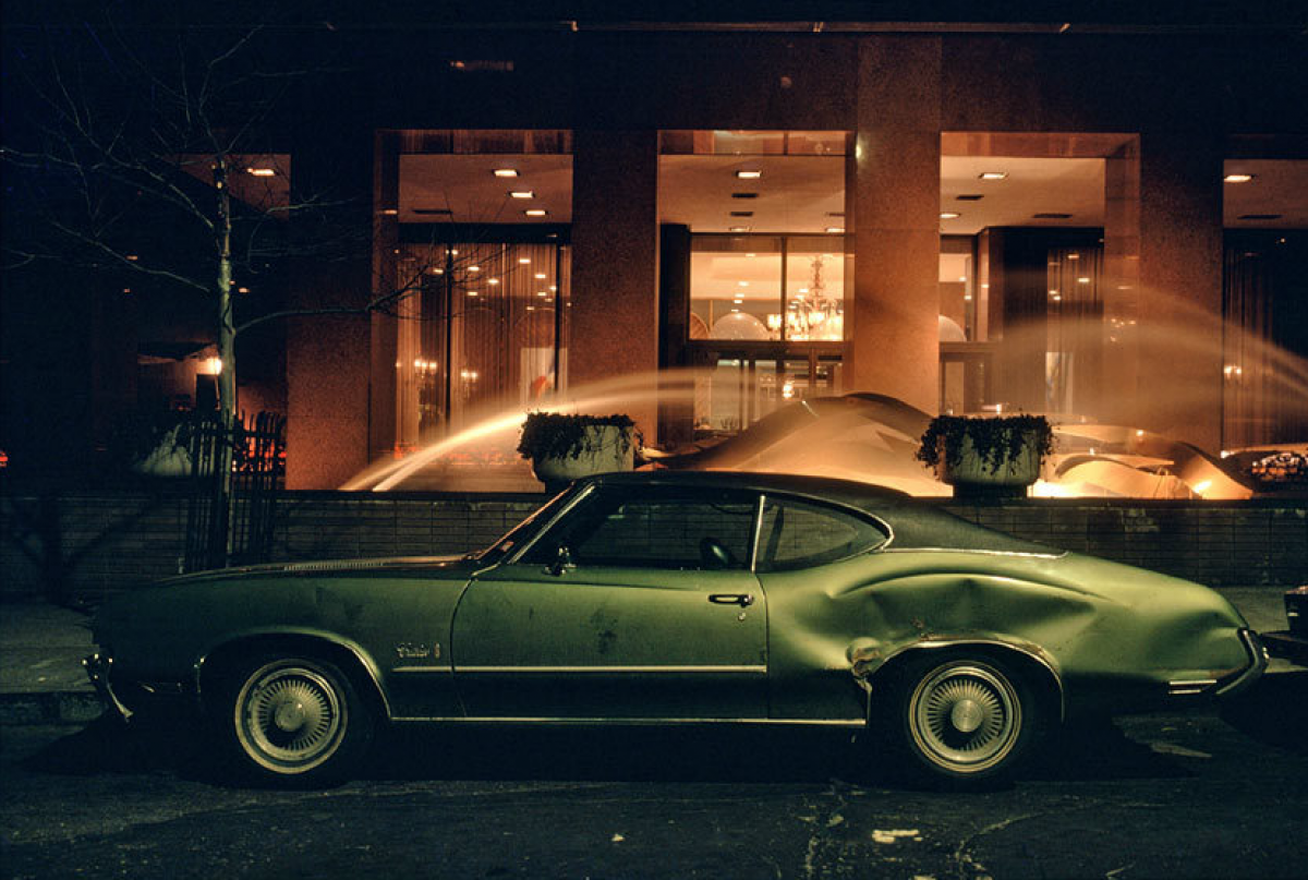 Fountain car, Oldsmobile Cutlass, 1975