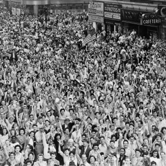 New York City Crowds In The Early And Mid 20th Century