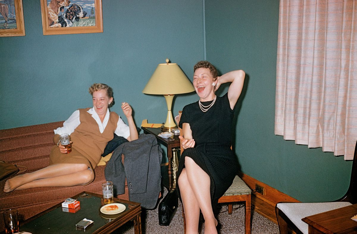 found kodachrome laughter 1950s