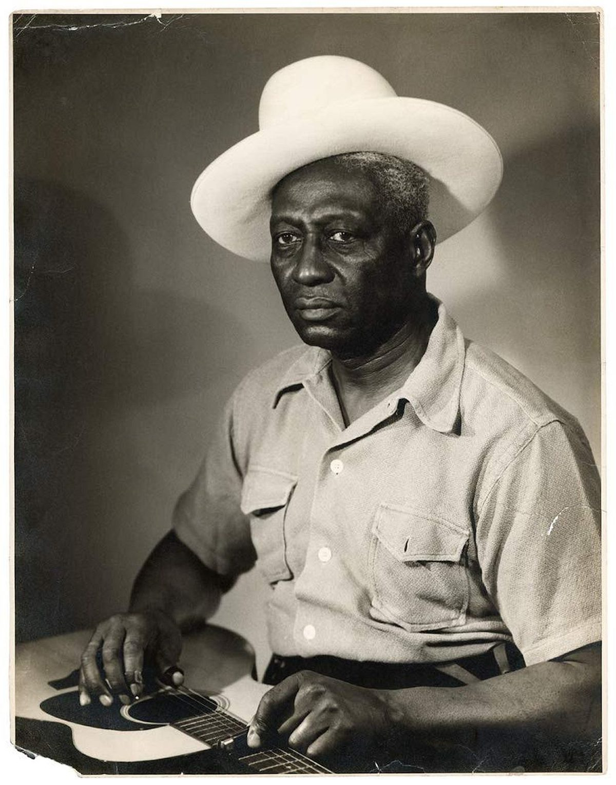 Portrait of Lead Belly