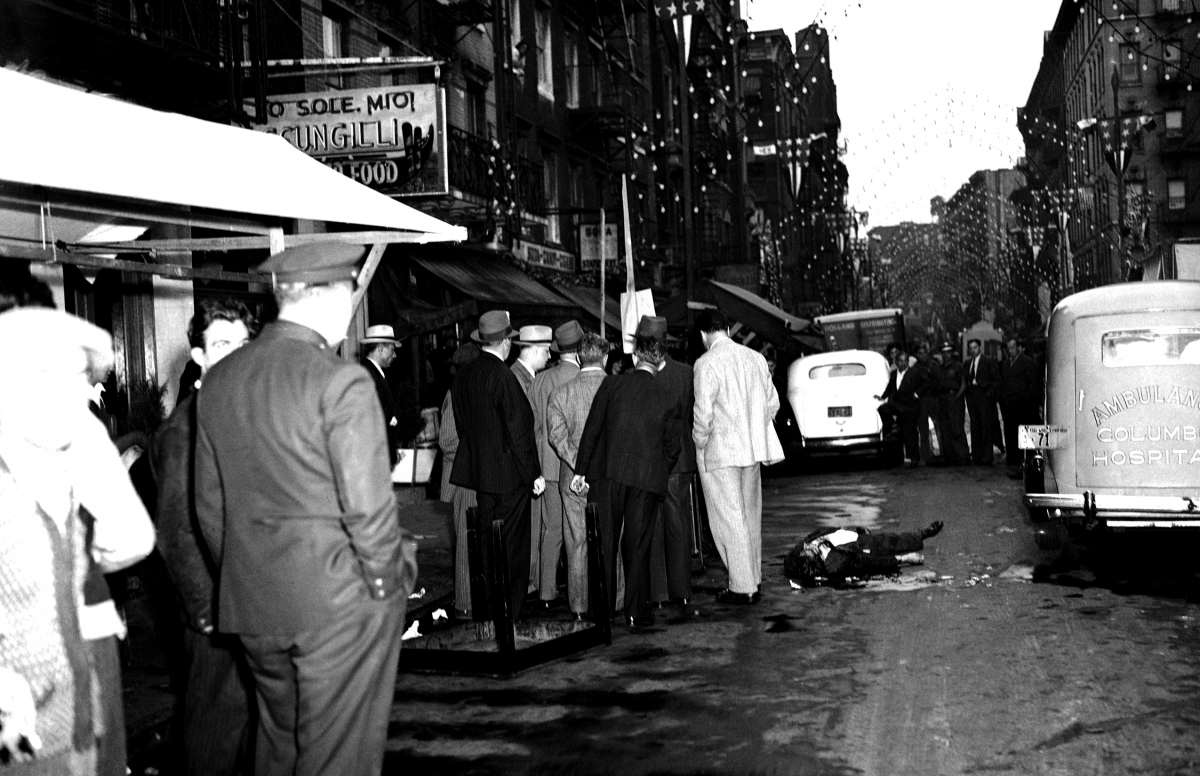 New York City 1930s murder