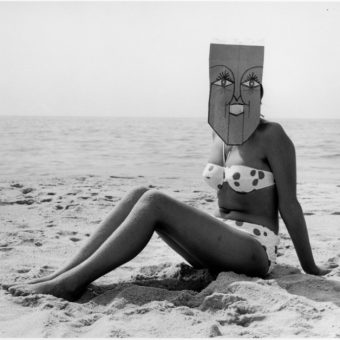 Inge Morath Photographs Saul Steinberg and his Brilliant Mask Parties