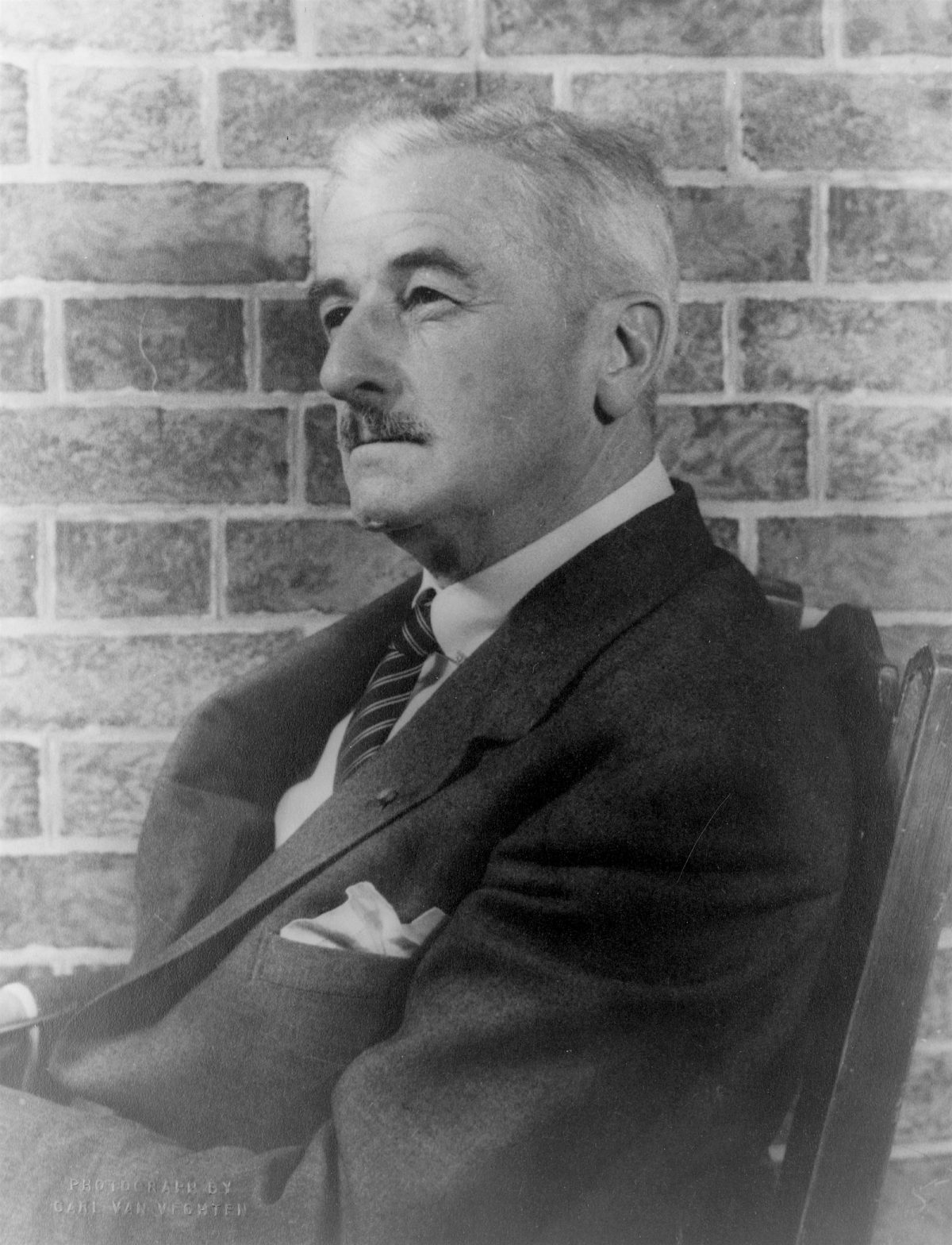 William Faulkner, Carl Van Vechten, photography