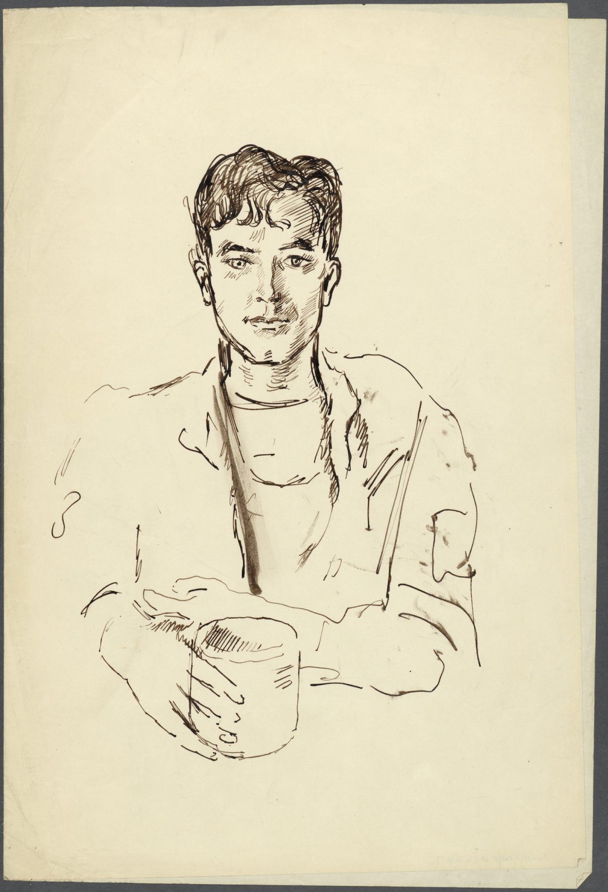 Cecil Beaton, war drawing,