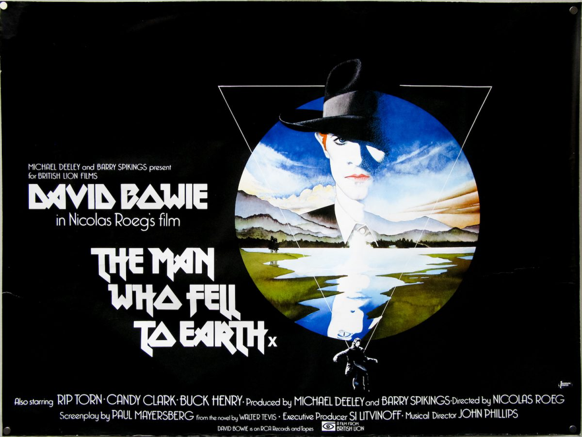 David Bowie, Nicolas Roeg, Man Who Fell To Earth