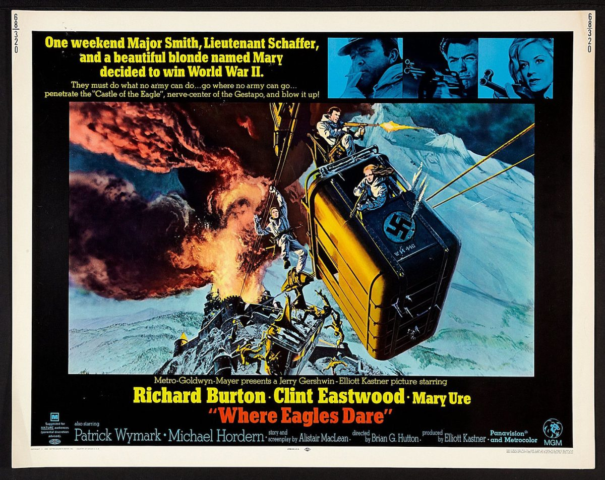 Alistair MacLean, Where Eagles Dare, film