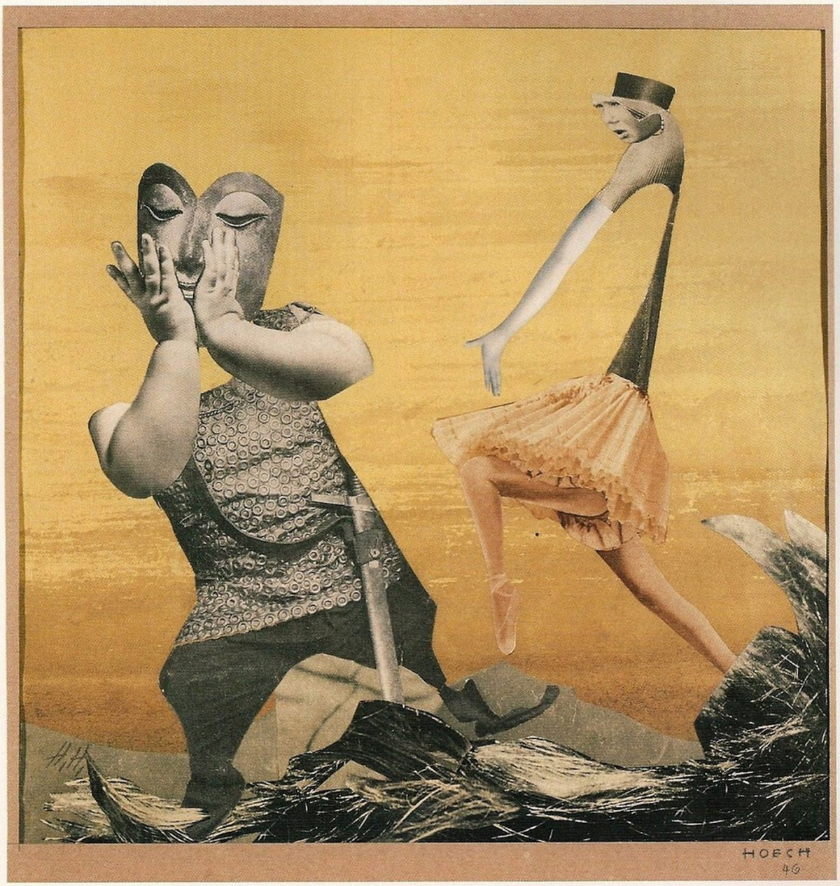 Hannah Höch, DADA, collage, art