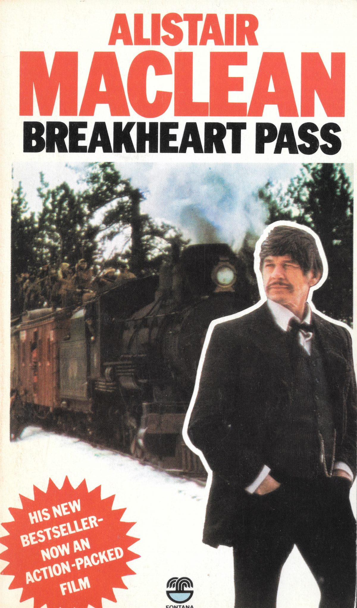 Alistair MacLean, Breakheart Pass, Charles Bronson, books