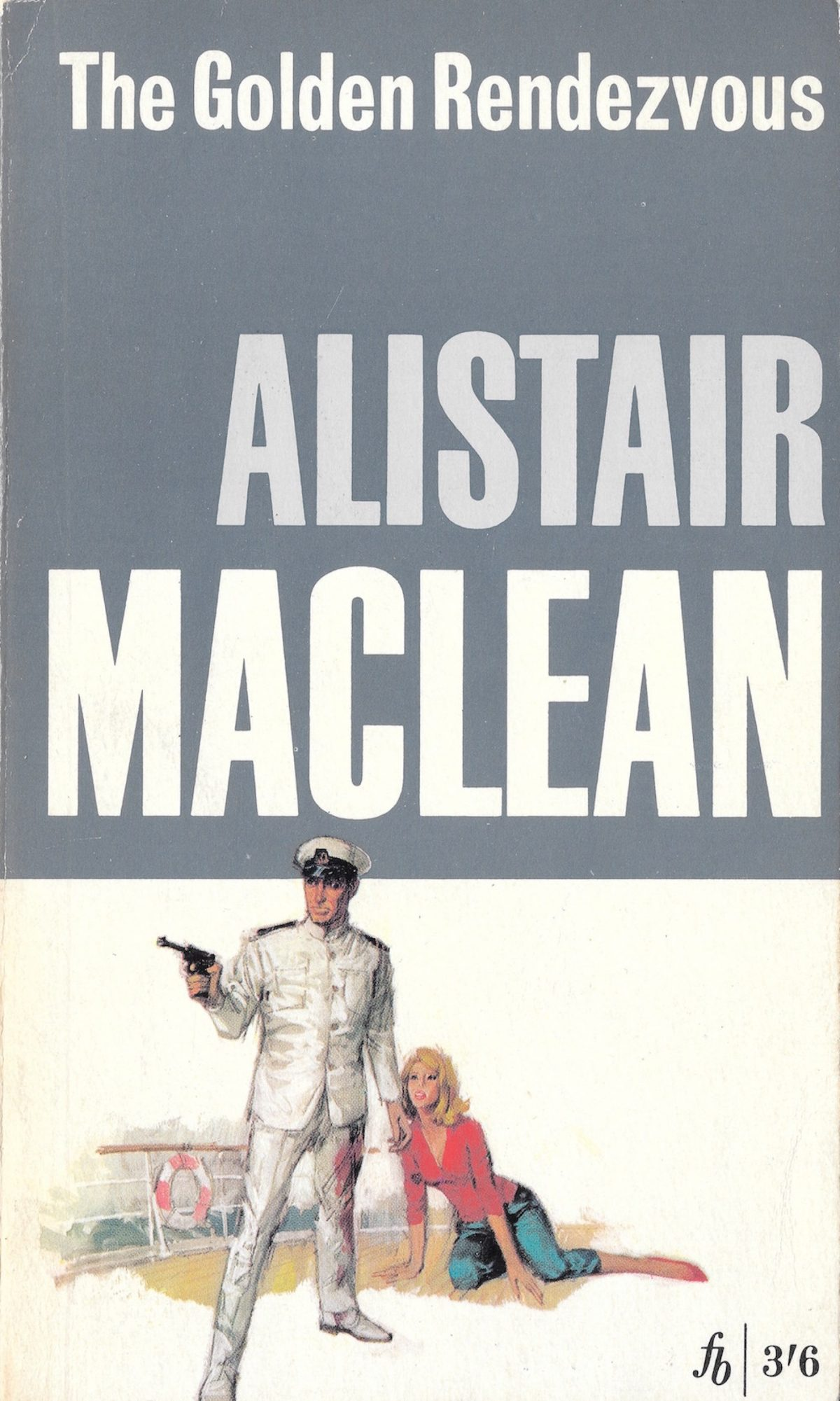 Alistair MacLean, book, Golden Rendezvous