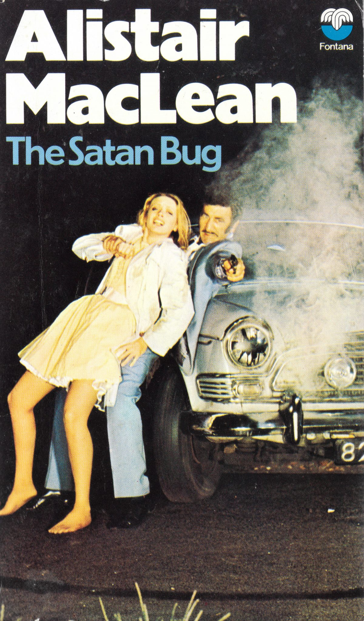 Alistair MacLean, Satan Bug, book