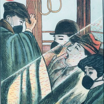 A Japanese Guide To Beating Killer Flu from 1918