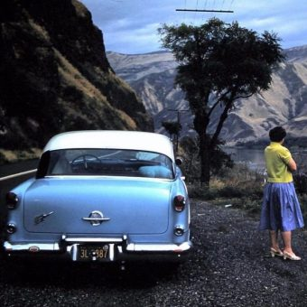 The Great American Road Trip – In Mid-Century Kodachrome