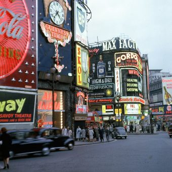"""A Sense of Sex and the Night"" – the History of Piccadilly Circus"