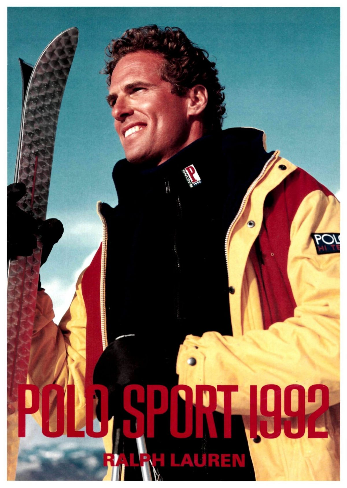 Polo Ralph Lauren Advertisement 1992