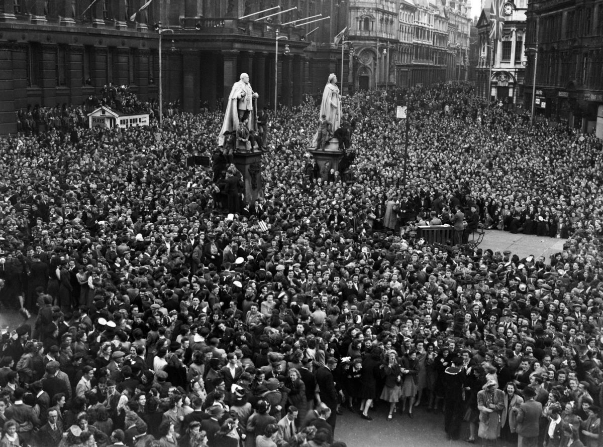 VE Day in Birmingham