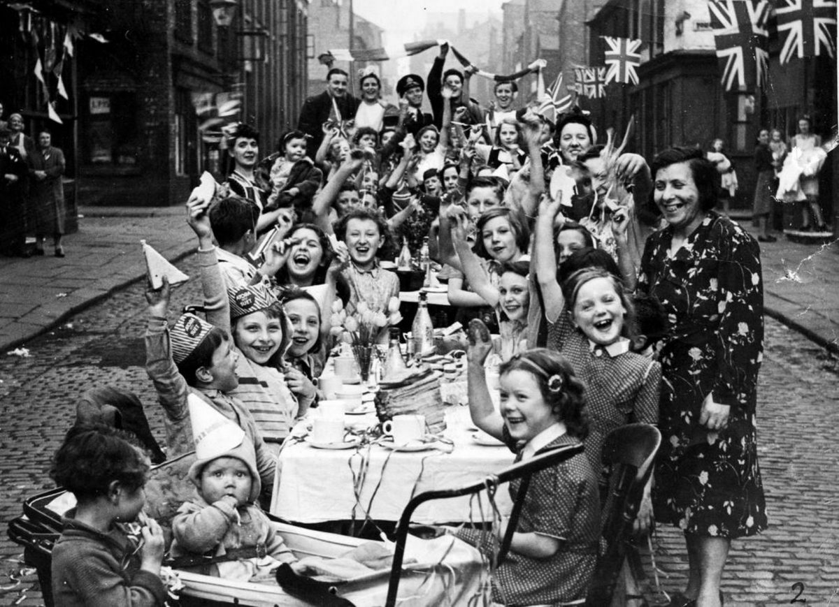 VE Day in Manchester