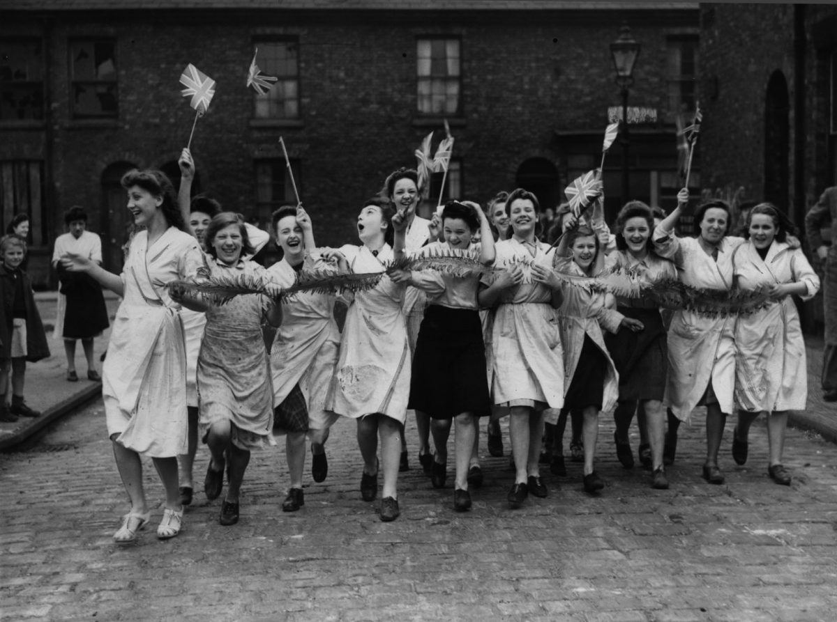 VE Day Manchester
