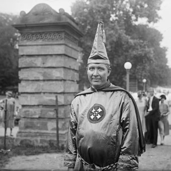 50,000 Klan Members March on Washington, D.C. in 1925. 150,000 People Show Up to Watch