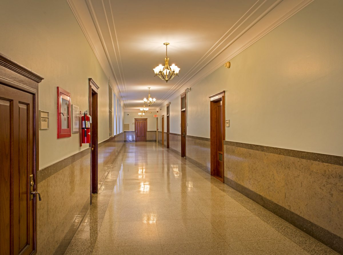 Carol M Highsmith, America, photography, hallways, Federal Building, Texarkana