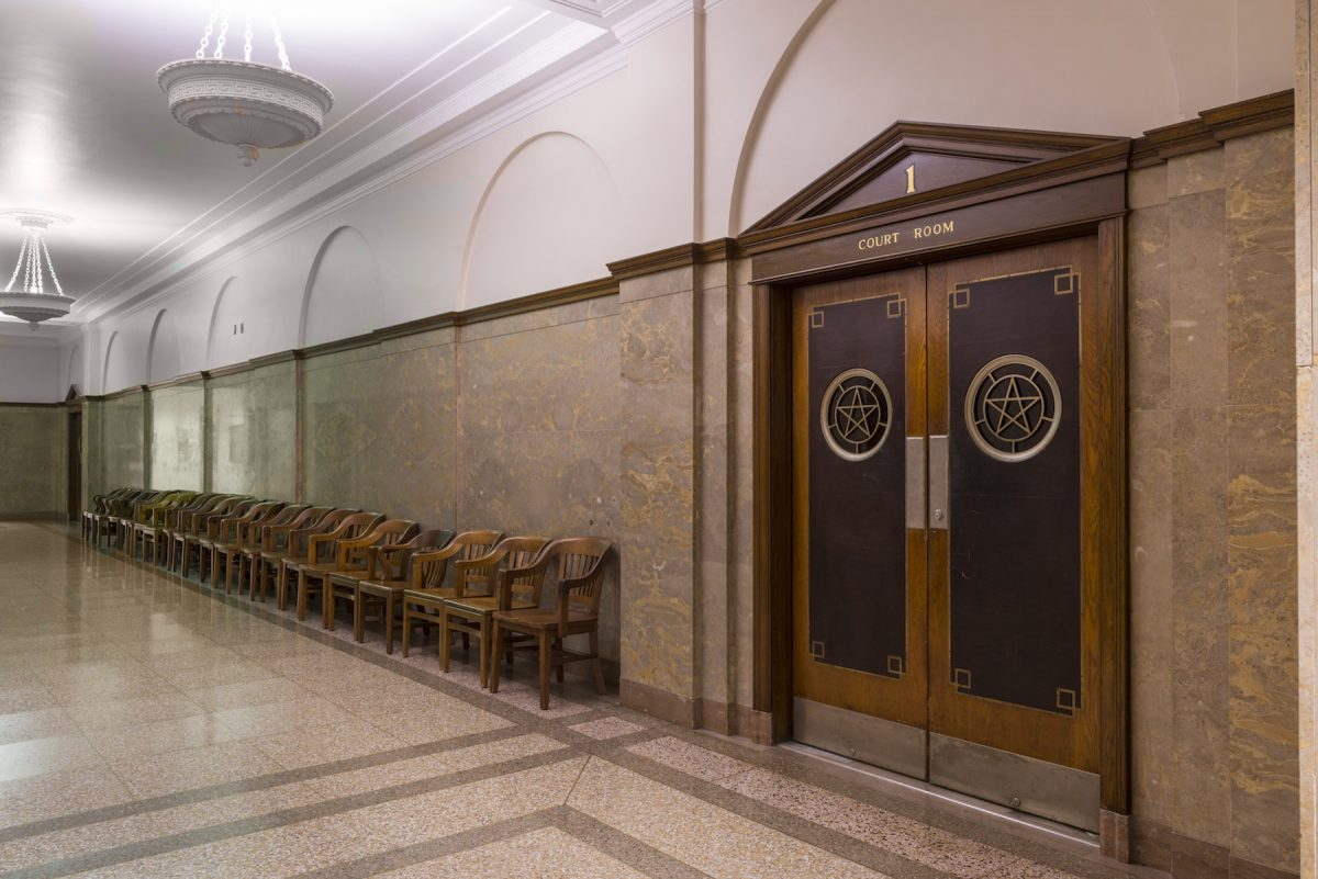 Carol M Highsmith, America, photography, hallways, courthouse, Texas
