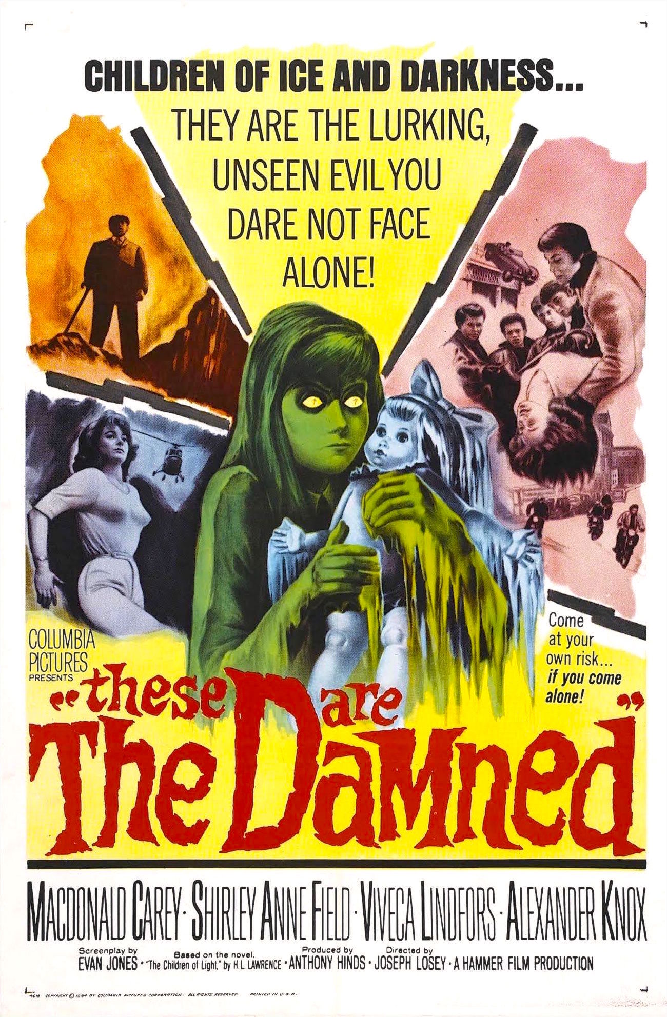 'Black Leather, Black Leather, Smash, Smash, Smash!' Oliver Reed Dishes out Some Ultra-violence in Joseph Losey's 'These are the Damned'