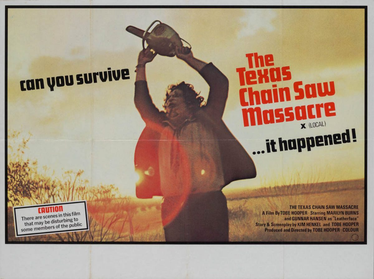 Tobe Hooper, Texas Chainsaw Massacre, film, horror