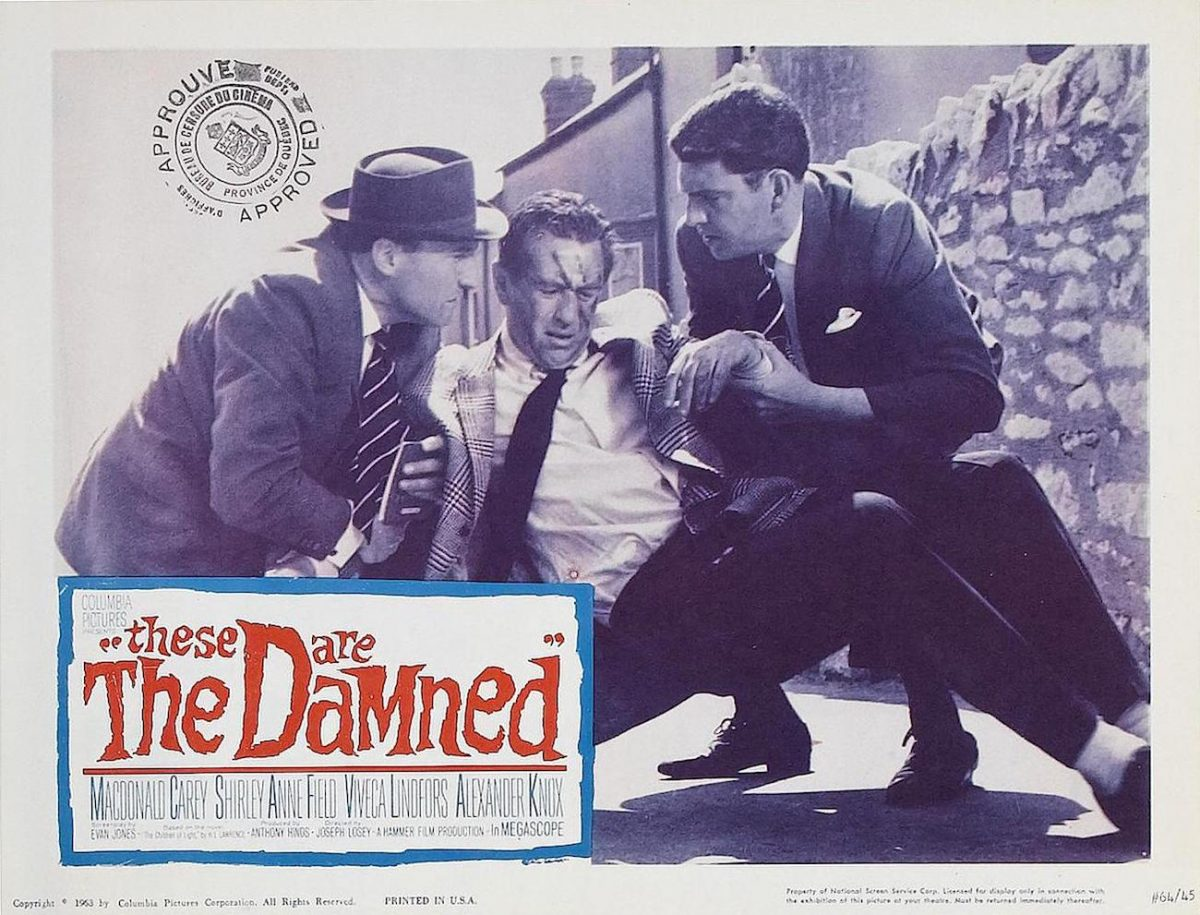 Shirley Anne-Field, Oliver Reed, Joseph Losey, These are the Damned, film