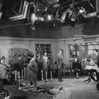 A Brilliant Collection of Behind the Scenes Photos of Alfred Hitchcock Movies