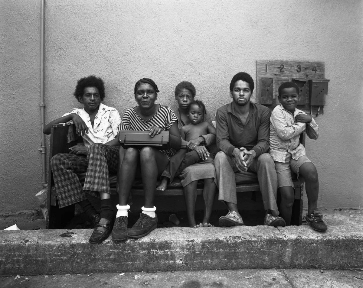 New Orleans, LA (Family on Bench) 1984 Baldwin Lee