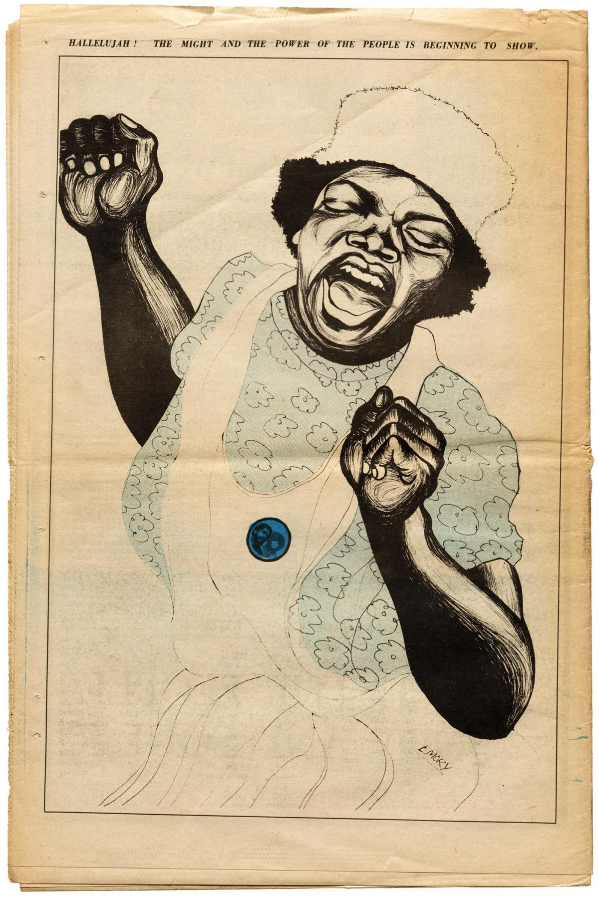 The Radical Art of The Black Panther, the Revolution's Newspaper
