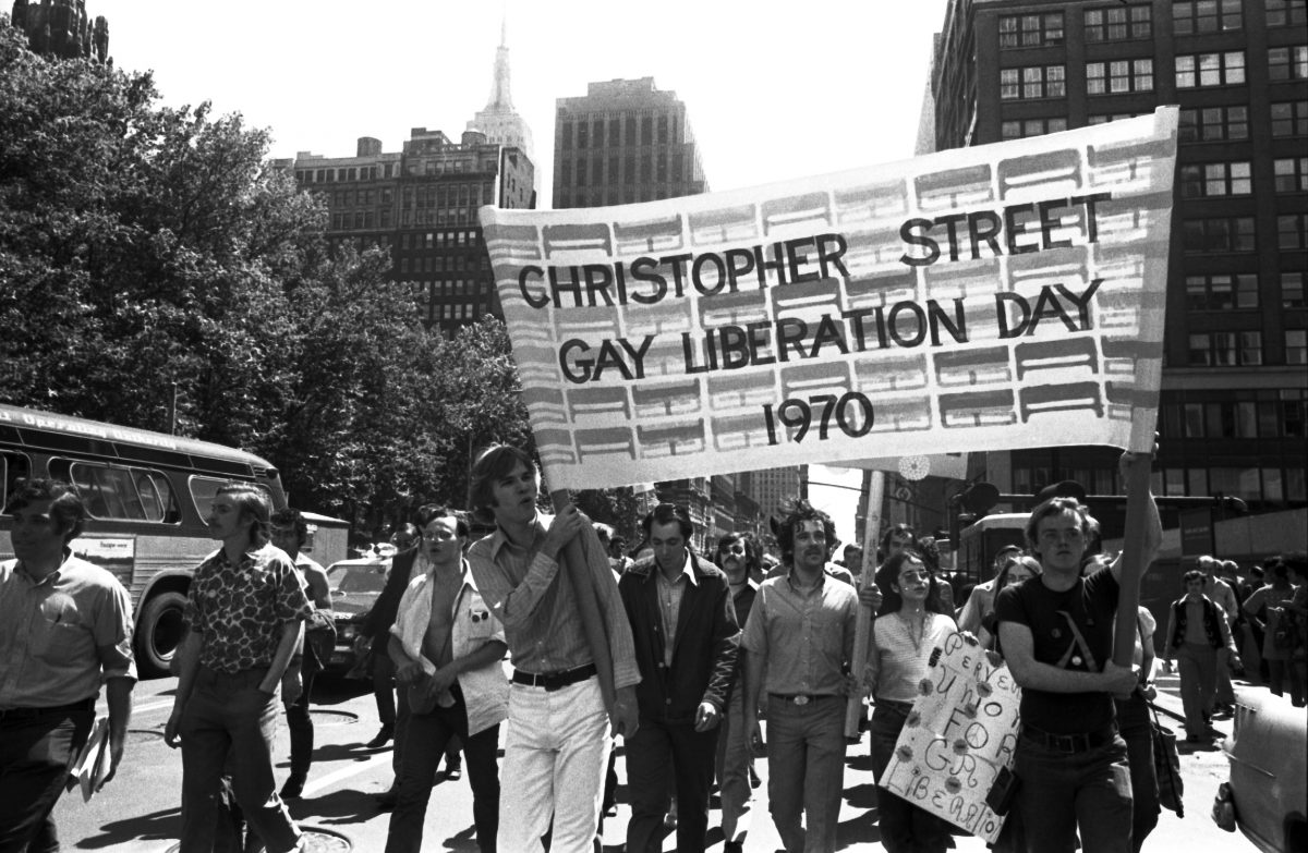 gay pride christopher street New York 1970s