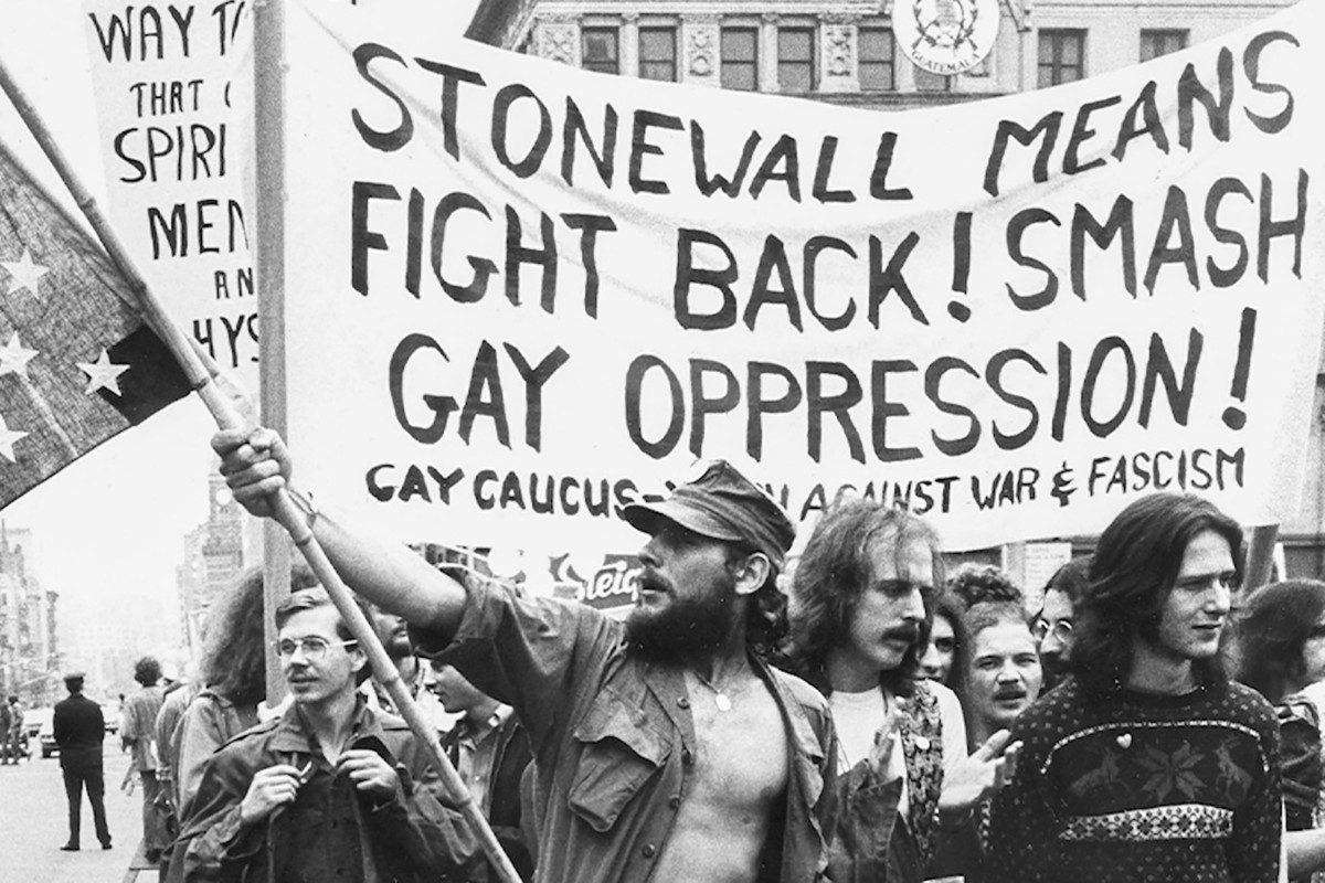 gay pride christopher street New York 1970s stonewall
