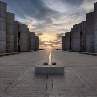 "The Austere Beauty of Louis Kahn's 1963 Salk Institute for Biological Research, ""Arguably the Defining Work of the Greatest American Architect"""