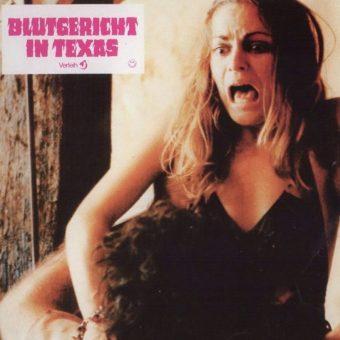 Can You Survive…? Lobby Cards for 'The Texas Chain Saw Massacre'?