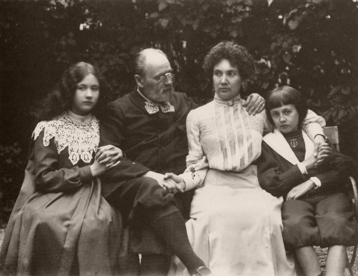 Émile Zola's Photographs Family portrait