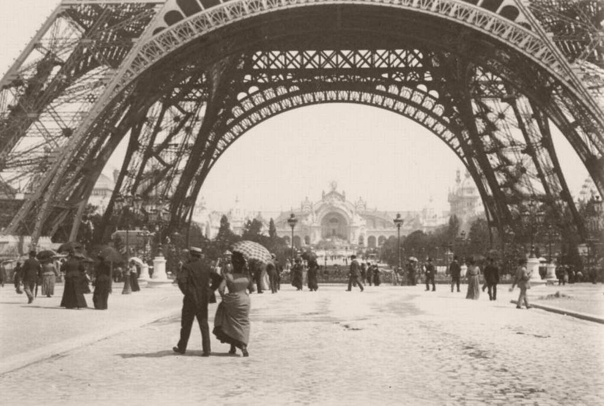 Émile Zola's Photographs Eiffel Tower and the Palais d'Electricite