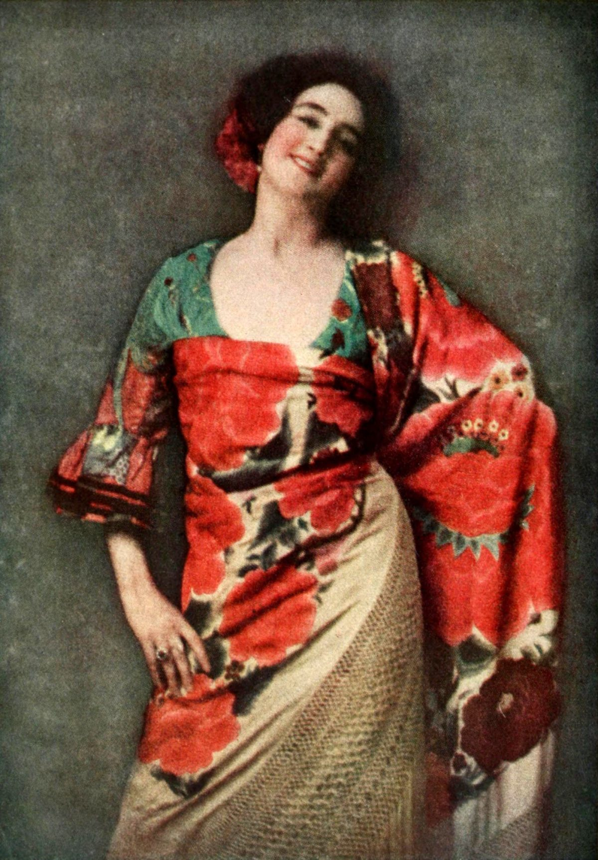 Arnold Genthe, Spanish dancer, photography