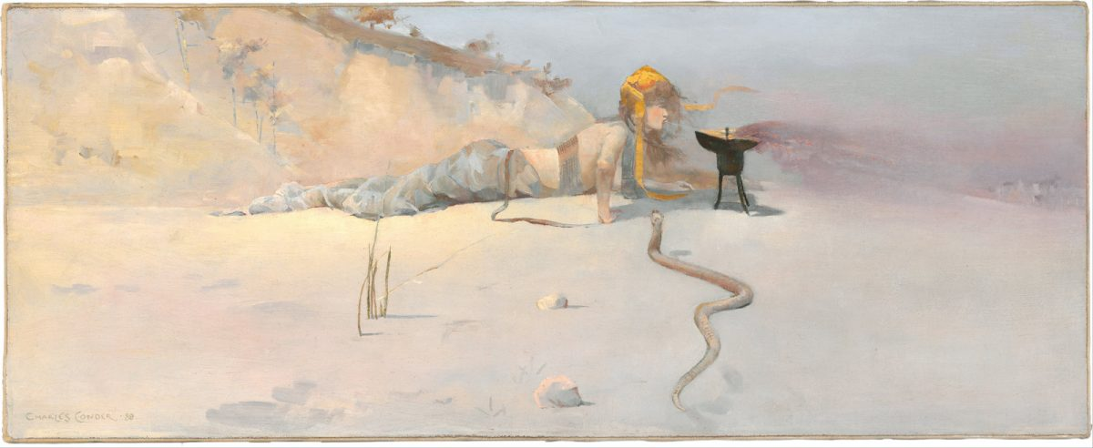 Charles Conder, painting